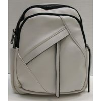 Женский городской рюкзак  (белый)  21-06-109