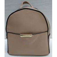 Женский небольшой рюкзак Suliya  (пудровый)  21-06-151