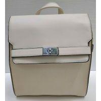 Женский средний рюкзак Suliya  (бежевый)  21-06-152