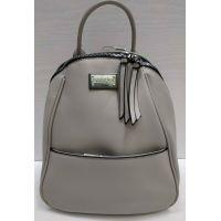 Женский средний рюкзак-сумка  Suliya  (серый)  21-06-153