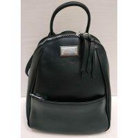 Женский средний рюкзак-сумка  Suliya  (чёрный)  21-06-153