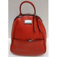 Женский средний рюкзак-сумка  Suliya  (красный)  21-06-153