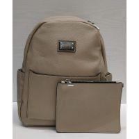 Женский стильный рюкзак Suliya  (бежевый)  21-06-156