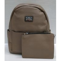 Женский стильный рюкзак Suliya  (тёмно бежевый)  21-06-156