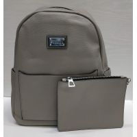 Женский стильный рюкзак Suliya  (серый)  21-06-156