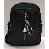 Женский тканевой рюкзак   (чёрный)  21-06-159