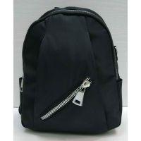 Женский тканевой рюкзак   (чёрный)  21-06-160