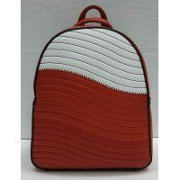 Женский небольшой рюкзак Suliya  (красный)  21-06-163