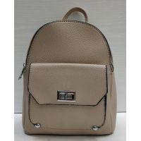 Женский небольшой рюкзак Suliya  (бежевый)  21-06-164