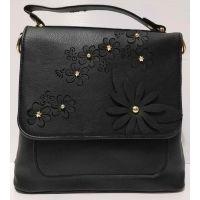 Женский рюкзак-сумка (чёрный) 20-11-001
