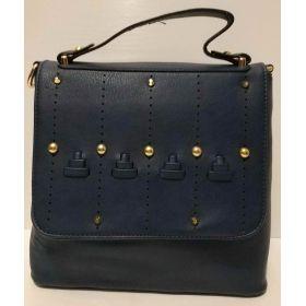 Женский рюкзак-сумка (синий) 20-11-002