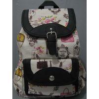 Тканевой рюкзак с принтом (2)  17-8-002