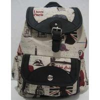 Тканевой рюкзак с принтом (4)  17-8-002