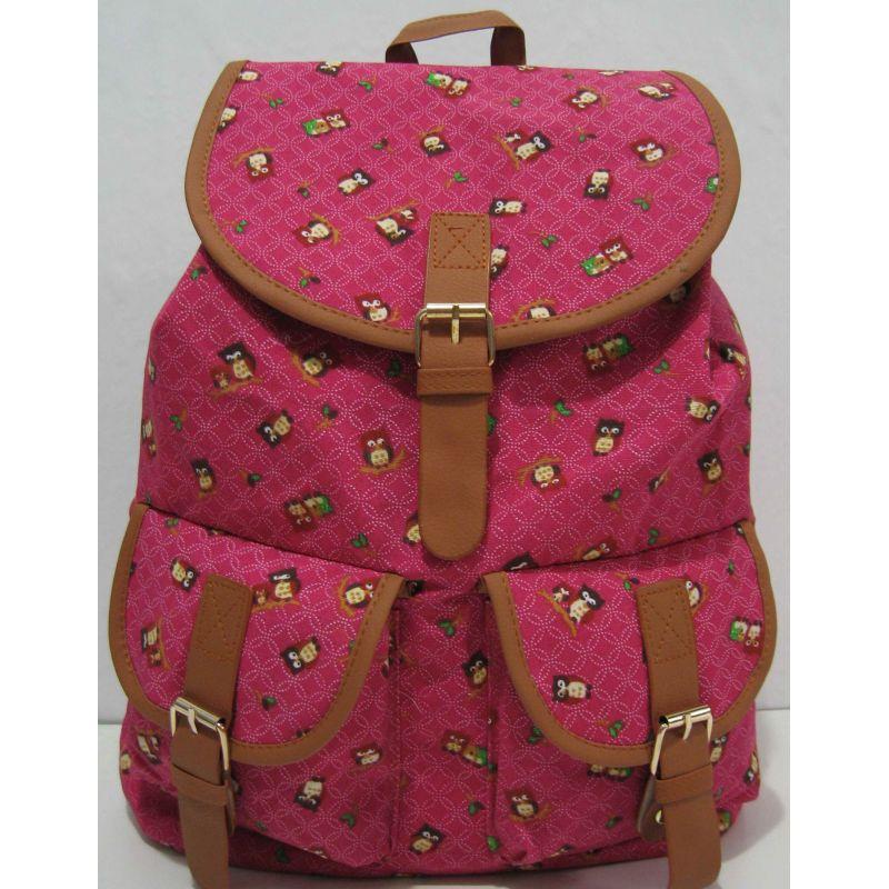 602f3f7bf173 Тканевый рюкзак с карманом