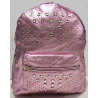 Городской рюкзак с заклёпками (розовый) 18-03-023