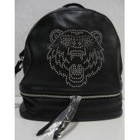 Городской  рюкзак  с тигром (чёрный) 18-08-033