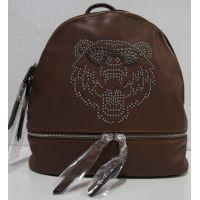 Городской  рюкзак  с тигром (коричневый) 18-08-033