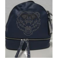 Городской  рюкзак  с тигром (синий) 18-08-033