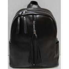 Женский кожаный рюкзак (шоколадный) 18-11-001