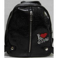 Стильный городской рюкзак (чёрный) 18-11-039