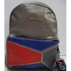 Рюкзак женский (серый) 18-12-120