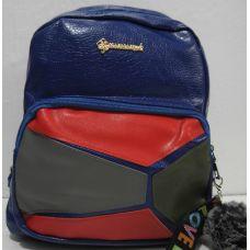 Рюкзак женский (синий) 18-12-120