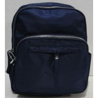 Городской тканевый рюкзак (синий) 19-01-003