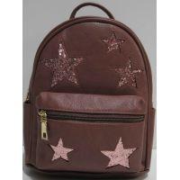 Городской рюкзак со звёздами (бургунд) 19-03-062