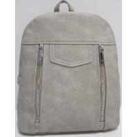 Городской тканевый рюкзак (серый) 19-04-006