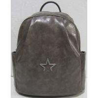 Женский городской рюкзак (серый)  19-05-181
