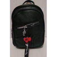Женский городской рюкзак (чёрный) 19-07-006