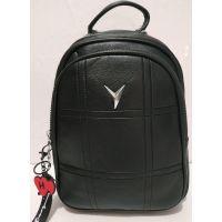 Женский городской рюкзак (чёрный) 19-07-007
