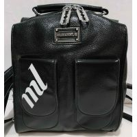 Женский стильный рюкзак-сумка (чёрный) 19-11-039