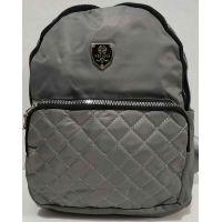Женский городской рюкзак Wen Long (серый) 20-01-035
