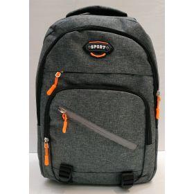 Мужской спортивный рюкзак  (серый) 21-04-078