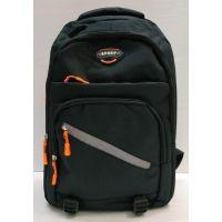 Мужской спортивный рюкзак  (чёрный) 21-04-078