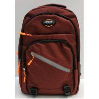 Мужской спортивный рюкзак  (бордовый) 21-04-078