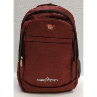 Мужской спортивный рюкзак  (бордовый) 21-04-080