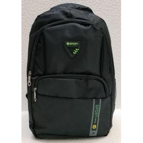 Мужской спортивный рюкзак  (чёрный) 21-04-081