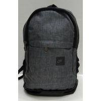 Мужской тканевый рюкзак (серый) 21-08-056