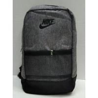 Мужской тканевый рюкзак (серый) 21-08-057