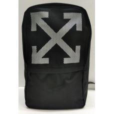Мужской тканевый рюкзак (чёрный) 21-08-058