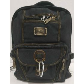 Мужской джинсовый рюкзак (чёрный) 19-05-163