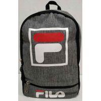 Мужской тканевой рюкзак (серый) 19-05-166