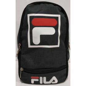 Мужской тканевой рюкзак (чёрый) 19-05-166