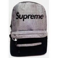 Мужской рюкзак  (серый) 19-06-012