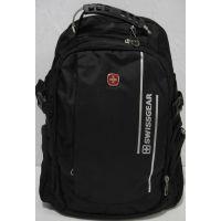 Мужской рюкзак Swissgear (чёрный) 19-07-042