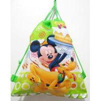 Рюкзак для обуви мультфильм (Микки Маус и Плуто) 17-9-081