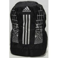 Спортивный рюкзак Adidas (чёрный с белыми вставками) 17-6-036