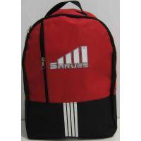 Спортивный рюкзак Saruss (чёрный с красным фасадом) 17-7-098